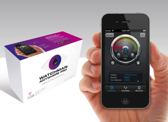 Czujnik poziomu paliwa oraz AdBlue® – Watchman Anywhere Pro